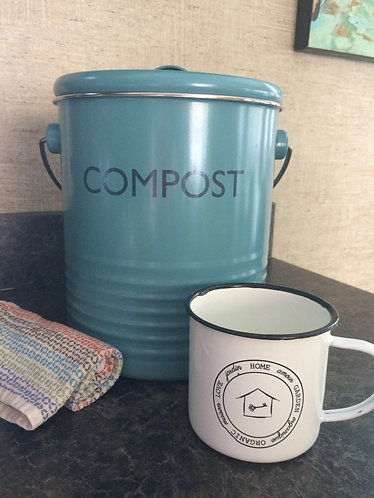 Compost Bin 3 Liter - Summerhouse Blue