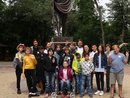 Q-CAMP - первый в Казахстане инклюзивный лагерь для подростков, основанный на мирном образовании