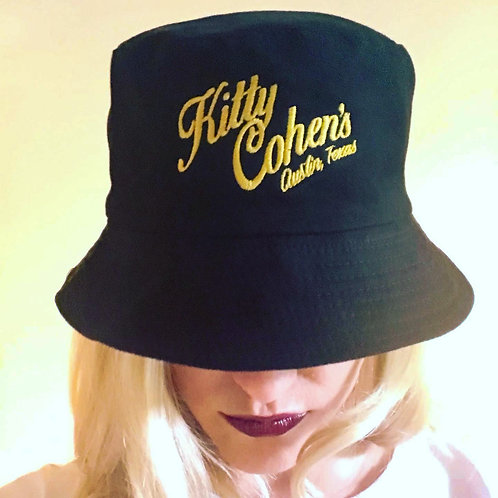 Kitty Cohen's Bucket Hat Black