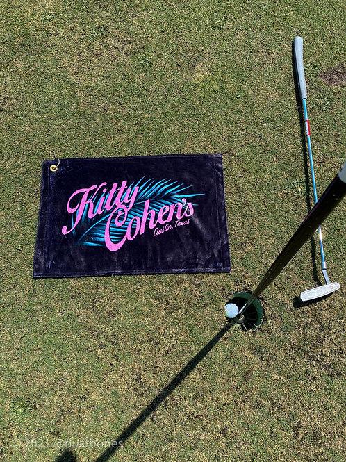 Kitty Cohen's Golf Towel
