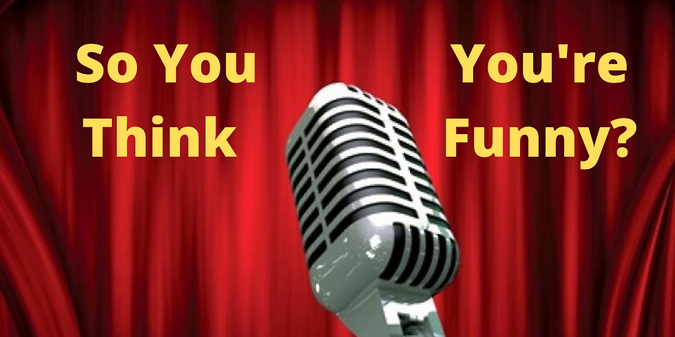 So You Think You're Funny