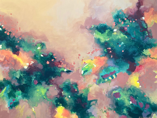 From The Easel: Efflorescence