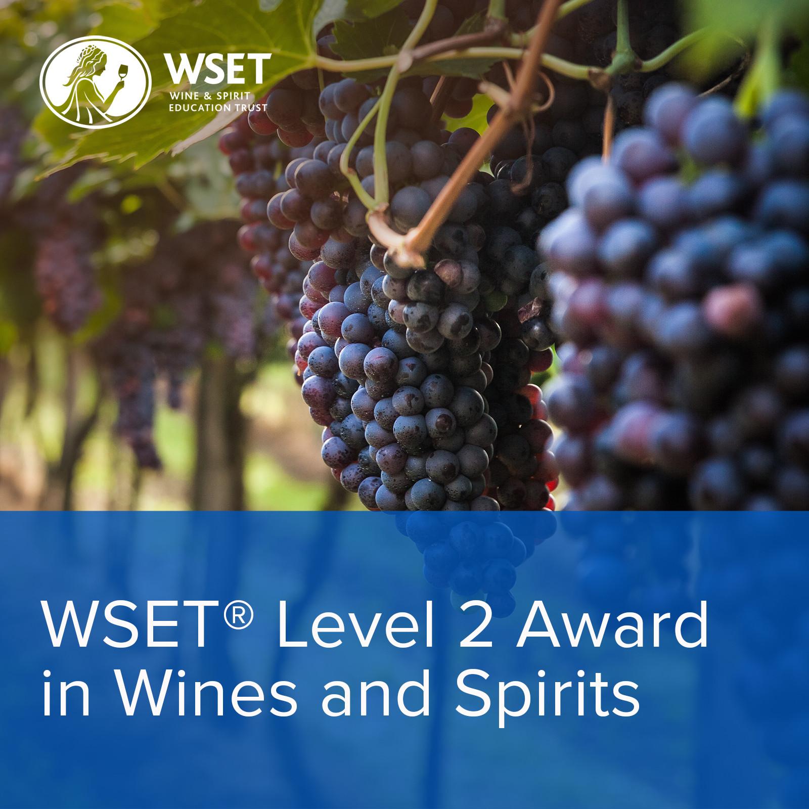 WSET L2 Wines 9 Week 17 Mar to 12 May