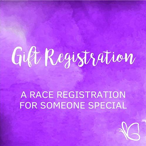 Gift Race Registration