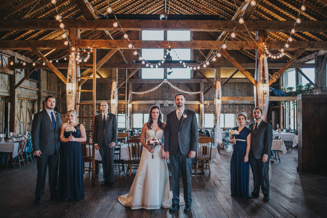 Kayla & Adam | Rustic Barn Wedding