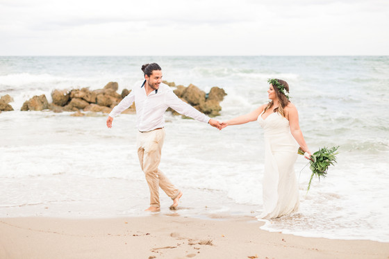 Deerfield Beach Anniversary Session | Emma & Ricardo
