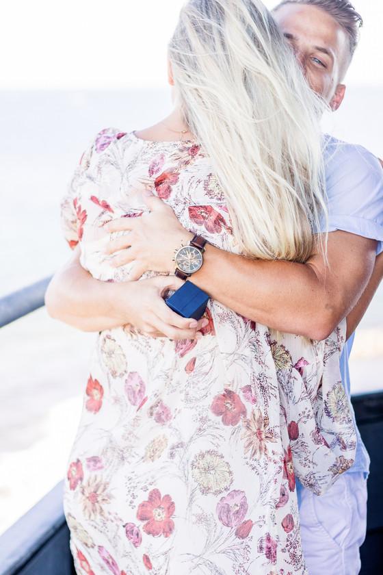 Natasha & Luke's Lighthouse Engagement