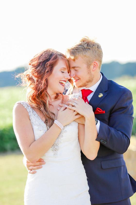 Alexis & Cody's Red White & Blue Wedding