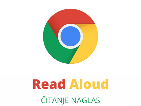 Kako uključiti čitanje naglas na bilo kojoj stranici?