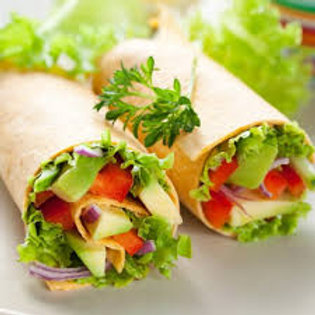 Platter of Assorted Filled Wraps