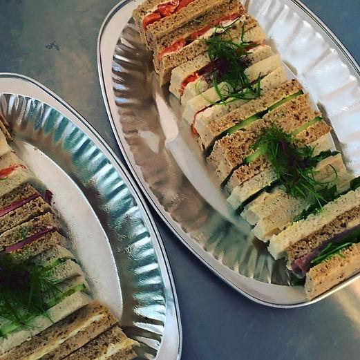 The Thornbury Deli Afternoon Tea Sandwiches