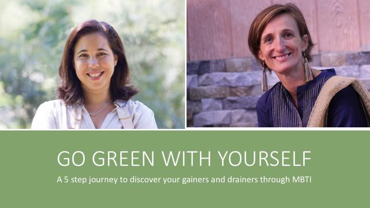 GO GREEN WITH YOURSELF en FRANCAIS-
