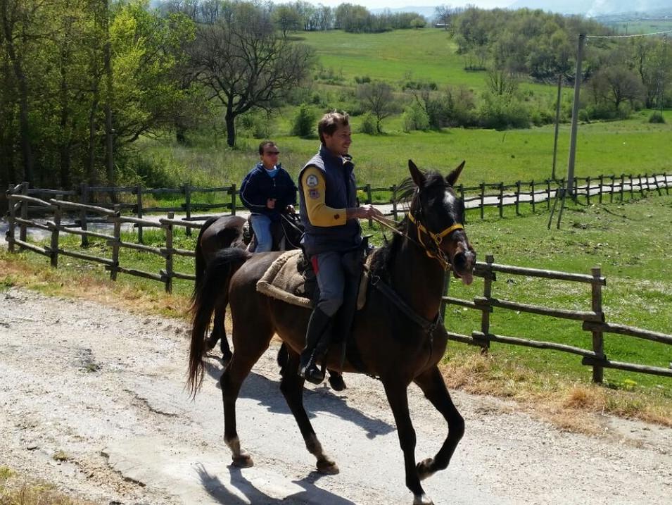 Escursione a cavallo