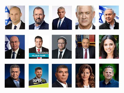 Медиаисследование - Израильские политики 2019