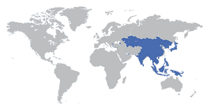 מחקרי מדיה - מספר גולשים באסיה