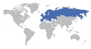 מחקרי מדיה - מספר גולשים אירופה