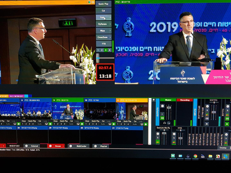 Facebook live broadcasts - Mobile studio