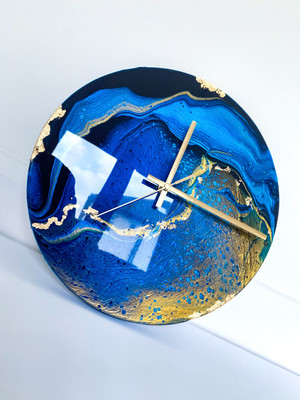 30cm royal blues with gold