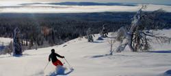 Ylläs backcountry skiing