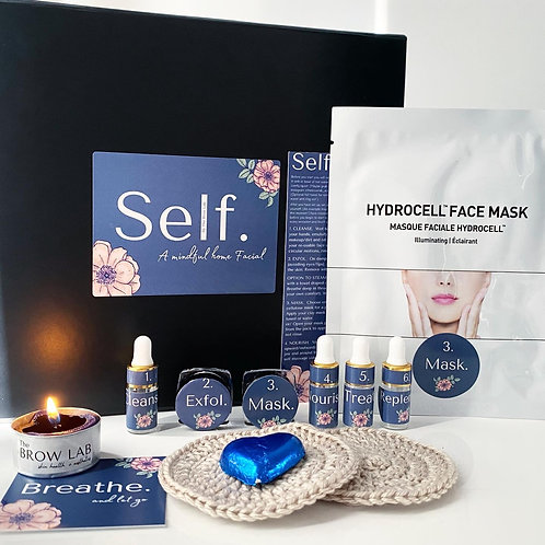 Self.  -a mindful home facial