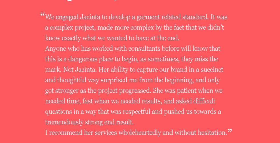 Jacinta FitzGerald Consultant