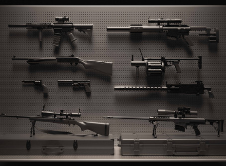 Who gets to keep the gun(s) in a divorce in California?