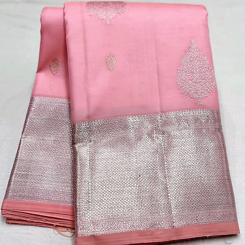 Light Pink Kanchipuram