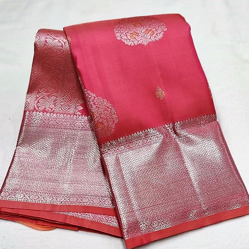 Dark Pink Kanchipuram