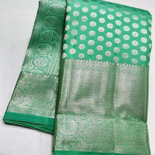 Mint Green Kanchipuram