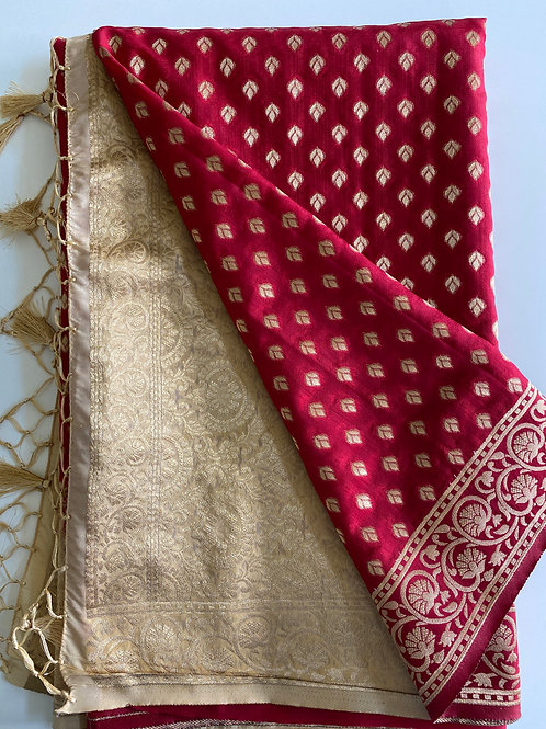 Banarasi Style Art Silk Sari