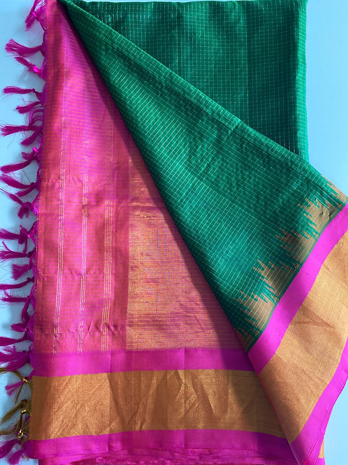 Pure Gadwal Silk