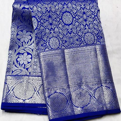 Royal Blue Kanchipuram