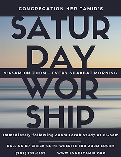 GENERIC - Saturday AM Worship Flyer for