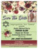 Jan Jones Invite flowers SAVE THE DATE.j
