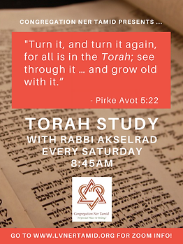 Torah Study - Updated Per Rabbi A - No D