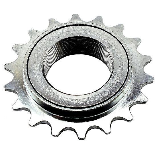 "18T 34mm 1/2"" x 1/8"" Silver Freewheel Bicycle Single Speed Cog Sprocket"