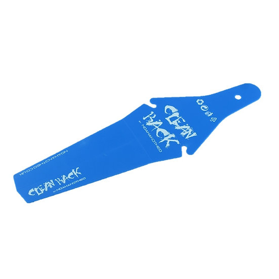 CLEAN BACK Rear Foldable Fender Mudguard BLUE
