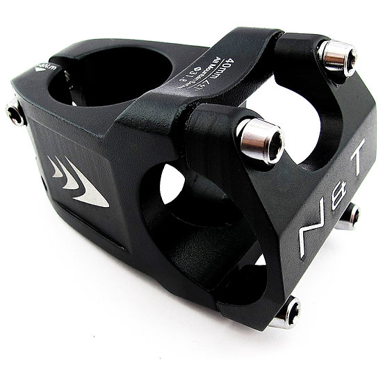 "NaT 40mm Wave Stem 28.6mm 1-1/8"" to 31.8mm Handlebar BLACK"