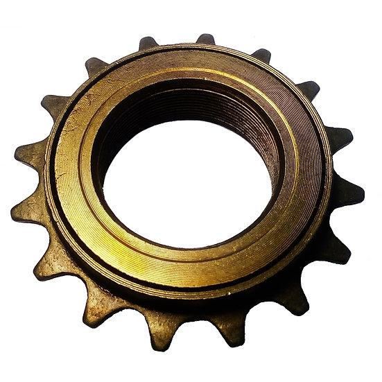 """16T 34mm 1/2"""" x 1/8"""" Brown Freewheel Bicycle Single Speed Cog Sprocket"""