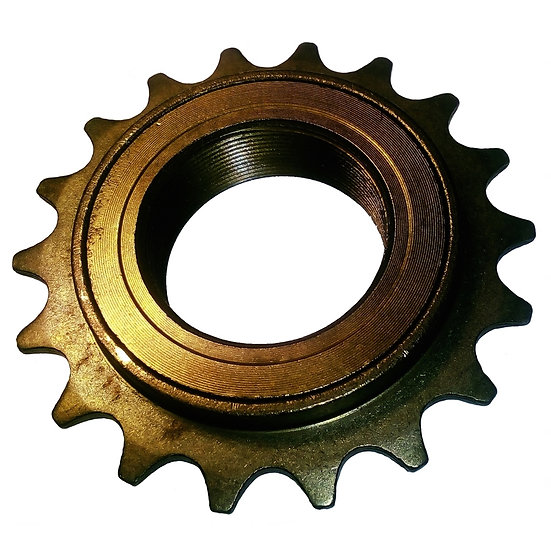 "18T 34mm 1/2"" x 1/8"" Brown Freewheel Bicycle Single Speed Cog Sprocket"