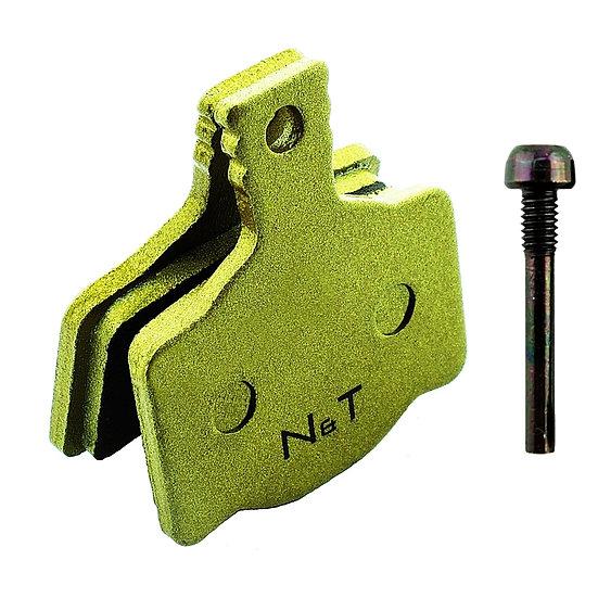 MAGURA MTS MT2 MT4 eSTOP FM MT4E MT6 MT8 Sintered Brake Pads + Screw