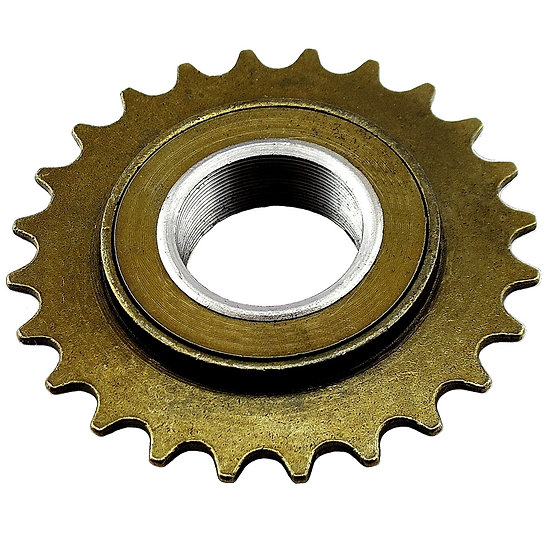 "24T 34mm 1/2"" x 1/8"" Brown Freewheel Bicycle Single Speed Cog Sprocket"