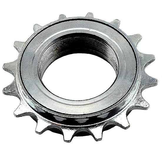 "16T 34mm 1/2"" x 1/8"" Silver Freewheel Bicycle Single Speed Cog Sprocket"