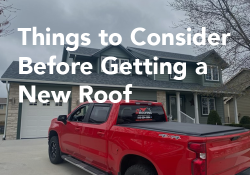Things to Consider Before Getting a New Roof on Your House