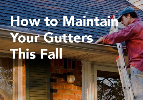 How to Maintain Your Gutters This Fall