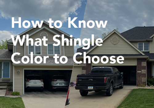 How to Know What Shingle Color to Choose