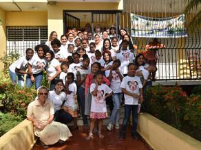 Voluntariado Bancentraliano realiza donaciones a hogares de acogida para niñas