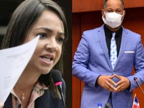 """Senadores  Dionis Sánchez y Faride Raful se enfrentan por """"Peaje sombra"""""""