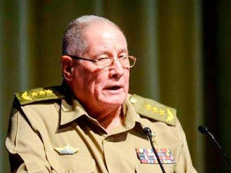 EE.UU. sanciona al ministro de Fuerzas Armadas de Cuba y a unidad de élite