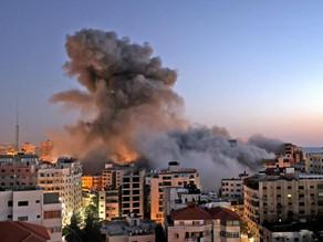 Israel y Hamas se baten en fuerte guerra de cohetes